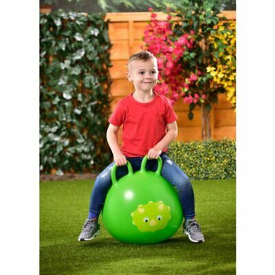 Bouncy Dinosaur Hopper Kids Inflatable Space Hop Ride On Bouncer Ball Toy • 13.99£