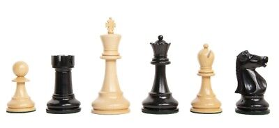 The Fischer Luxury Chess Set - Pieces Only - 4.4  King - Genuine Ebony • 628.45£
