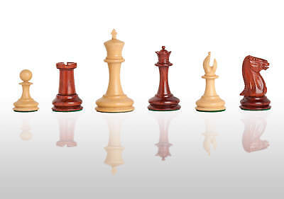 The Cooke Luxury Chess Set - Pieces Only - 3.5  King - Blood Rosewood • 426.08£