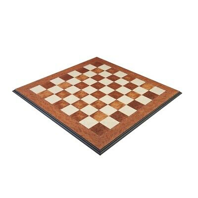 Elm Burl Superior Traditional Chess Board - 2.75  • 323.31£
