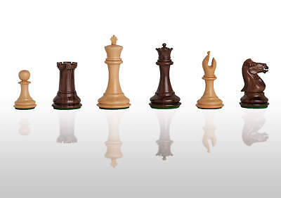 The Collector Luxury Chess Set - Pieces Only - 3.0  King - Indian Rosewood • 275.88£