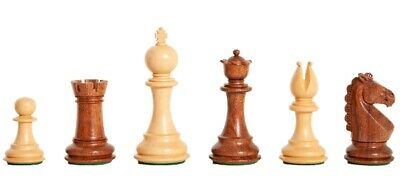 The Bedford Chess Set - Pieces Only - 3.75  King - Golden Rosewood • 212.64£