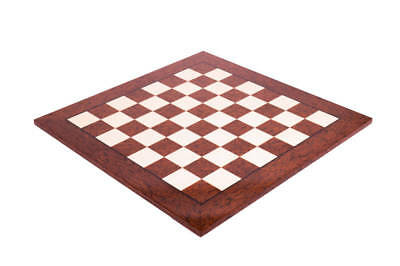 Brown Erable Standard Traditional Chess Board - 2.375  - GLOSS FINISH • 188.93£