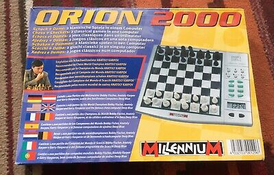 Vintage Orion 2000 Millenium Electronic Chess Game Excellent Condition • 20.90£
