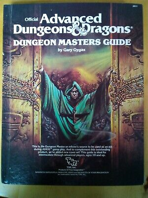 Dungeon Masters Guide December 1979 Edition AD&D • 5£