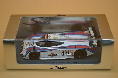 Spark S0650 - 1:43 Scale Model Of A Lancia LC2 - Number 4 Le Mans 1983 • 130£