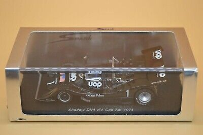 Spark S1121 - 1:43 Scale Model Of A Shadow DN4 - Number 1 Can-Am 1974 • 120£