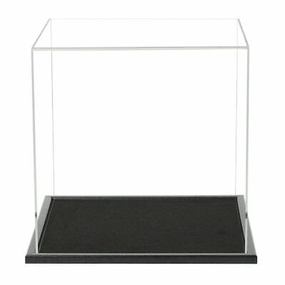 300mm Cube Display Case With A Wooden Base • 60.98£