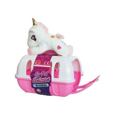 My Pet Unicorn Toy With Large Carrier • 7.99£