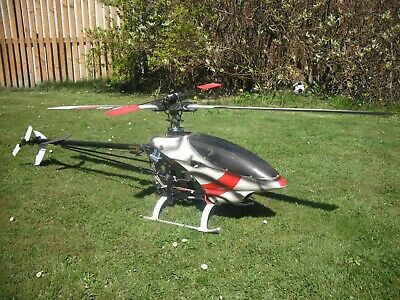 Raptor 60 Electric Conversion Helicopter • 300£