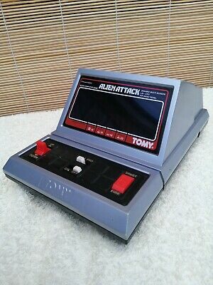 Alien Attack By Tomy. Works Fine. Great Retro Gaming!  • 19£