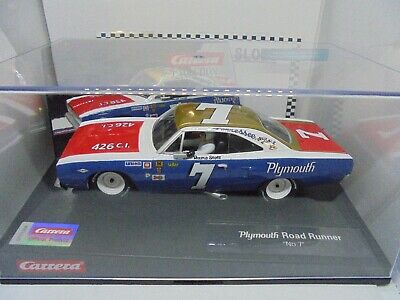 Carrera Evolution 27641  Plymouth Road Runner #7   BNIB • 38.95£
