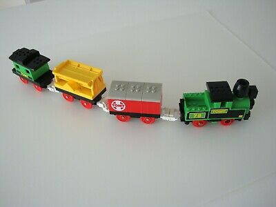Vintage Tomy 1988 Train And Carriages - Very Rare • 25.99£