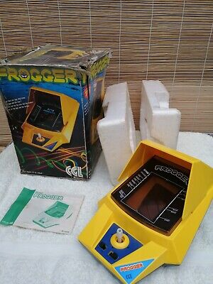 Vintage Handheld FROGGER By CGL. With Box & Leaflet. 1980s Retro Gaming.  • 29.99£
