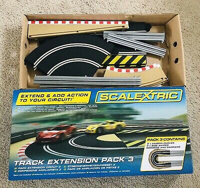 Scalextric Track Extension Pack 3 C8512 • 11£