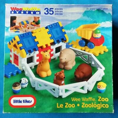 LITTLE TIKES : Wee Waffle System ZOO ~ Age 2+ • 9.99£
