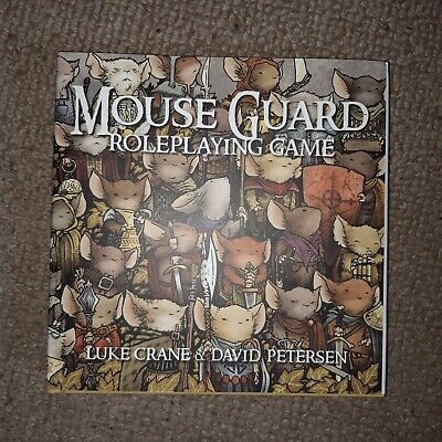 Mouse Guard RPG Role Playing Game • 11£