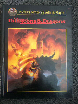 Dungeons And Dragons 2nd Edition Player Option Spells And Magic • 25£