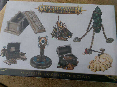 Shattered Dominion Objectives - Warhammer AOS - SEALED • 18£