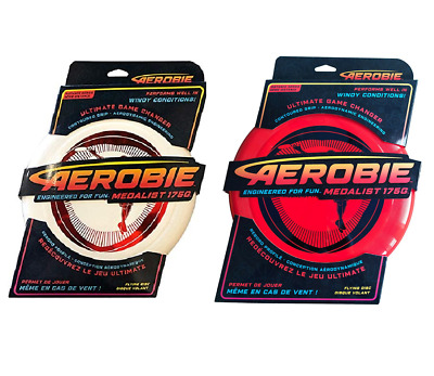 Aerobie Medalist Flying Disc Outdoor Frisbee Toy Game New • 6.50£