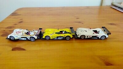SLOT CARS....3 X FLY PANOZ LMP..1   NUMBERS.  1...23...49 • 45£