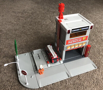 Tomica Hypercity Rescue Fire Station Complete Playset (85303) • 15£