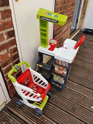 Smoby Supermarket Playset Childrens Toy Imagination Role Play • 10£