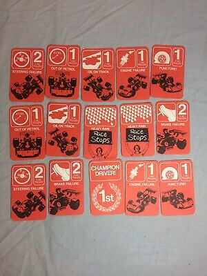 Scalextric Vintage Penalty Cards Champion Driver  • 1.99£
