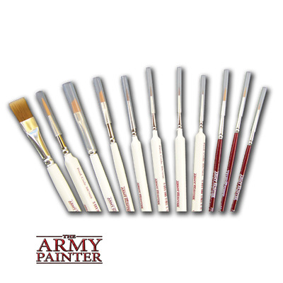The Army Painter - Brushes -  Masterclass - Hobby - Wargamer Brushes  • 5.99£