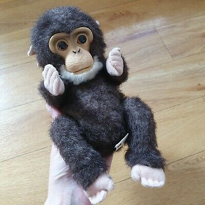 Tiger Electronics FurReal Newborn Chimp Monkey Pet Toy With Sounds Fur Real • 11.99£