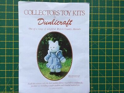 Vintage Dunlicraft Collectors Toy. PATTERN ONLY • 5.99£