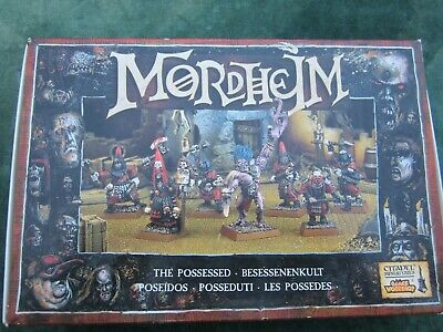 Mordheim BOX SET The Possessed Seven Models Mint  Warhammer Metal OOP • 99.99£