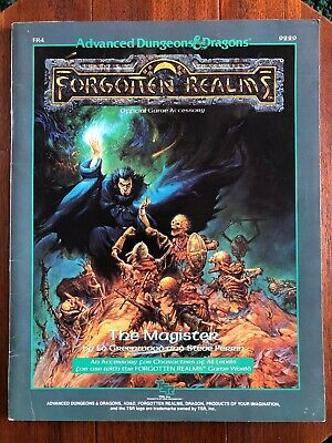 Advanced Dungeons & Dragons Forgotten Realms The Magister TSR 9229 FR4 • 25£