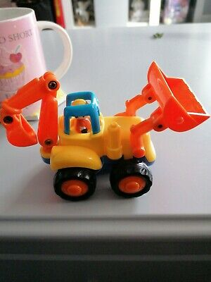 Huille Toys Tractor Digger • 3.50£