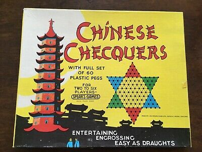 Chinese Checkers For Up To 6 Players • 9£