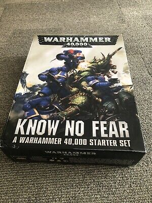 Warhammer 40k Know No Fear Starter Set • 32.99£