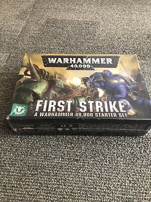 Warhammer 40k First Strike Starter Set New In Shrink • 11.99£