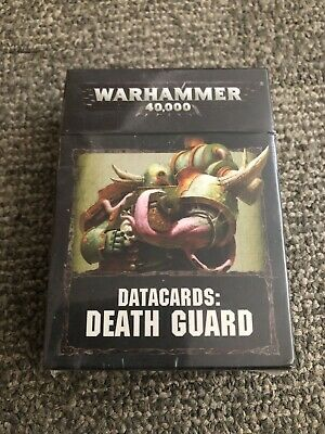 Death Guard Warhammer 40k 8th Edition Data Cards In Shrink • 4.20£
