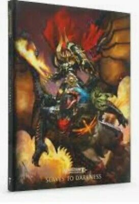 Warhammer Age Of Sigmar Slaves To Darkness Limited Edition Battletome OOP • 40£