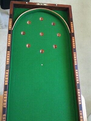 bagatelle Table ,later Victorian ,folding • 35£