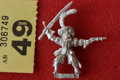 Games Workshop Warhammer Mordheim Averlanders With Sword Metal Figure OOP Pistol • 24.99£
