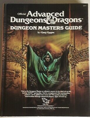 Official Advanced Dungeons & Dragons Dungeon Masters Guide, Gary Gygax. Hb 1979 • 4.99£