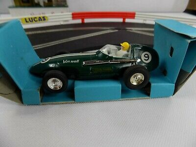 Vintage Scalextric Race-Tuned Boxed Vanwall C/87 • 50£