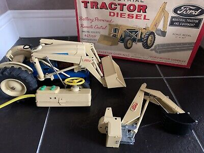1960's Cragstan Tractor Model Ford 4000 Remote Control • 2.20£