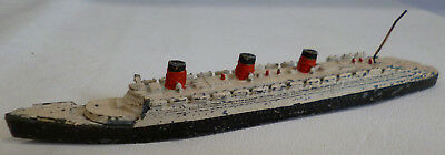 Dinky Toys 52 Cunard White Star Liner No 534 Queen Mary Playworn Unboxed • 17.99£