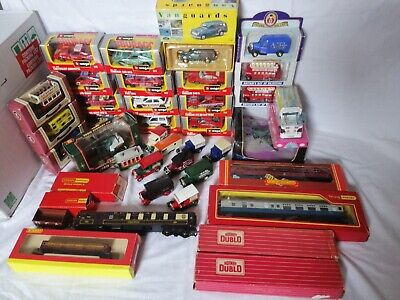 Bargain Joblot Of Diecast Vehicles And Collections Hornby, Vanguards, Lledo Etc. • 59.99£