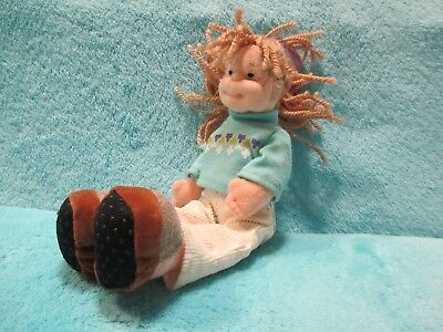 2002 Ty Teenie Beanie Boppers - Cool Cassidy Girl - Soft Small Doll Plush Toy 8  • 14.99£