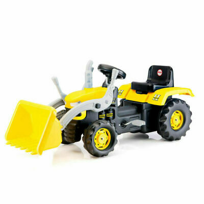 Dolu Kid's Children Ride On Yellow Digger With Shovel Loader Age 3+ Tractor • 59.95£