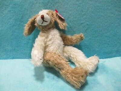 BNWT 1993 TY Attic Treasures - SCRUFFY Dog - Poseable Soft Plush Stuffed Toy 9  • 29.99£