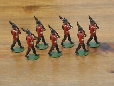 Britains Lead British Marching Soldiers X 7 • 17£